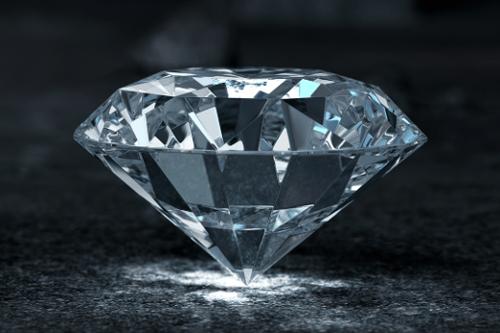 Hochwertiger Diamant