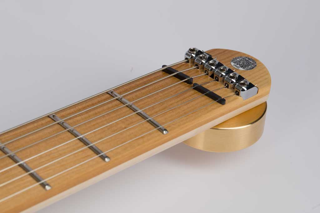 The new SonicMuse with a fretboard from Sonowood spruce.