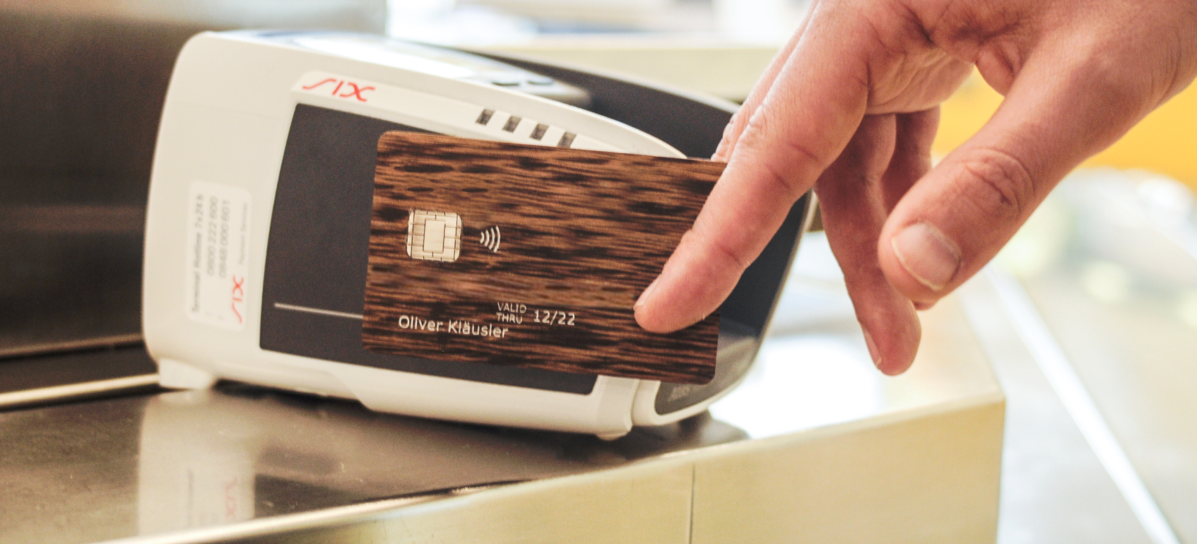 Wooden Smart Cards