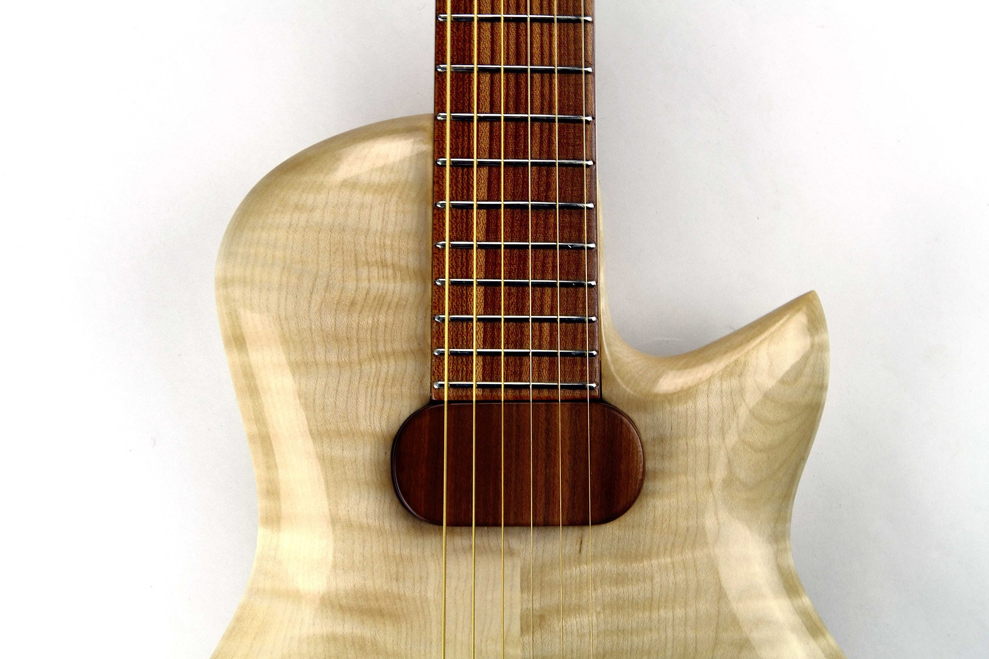 CannaGuitar with fretboard from Sonowood maple