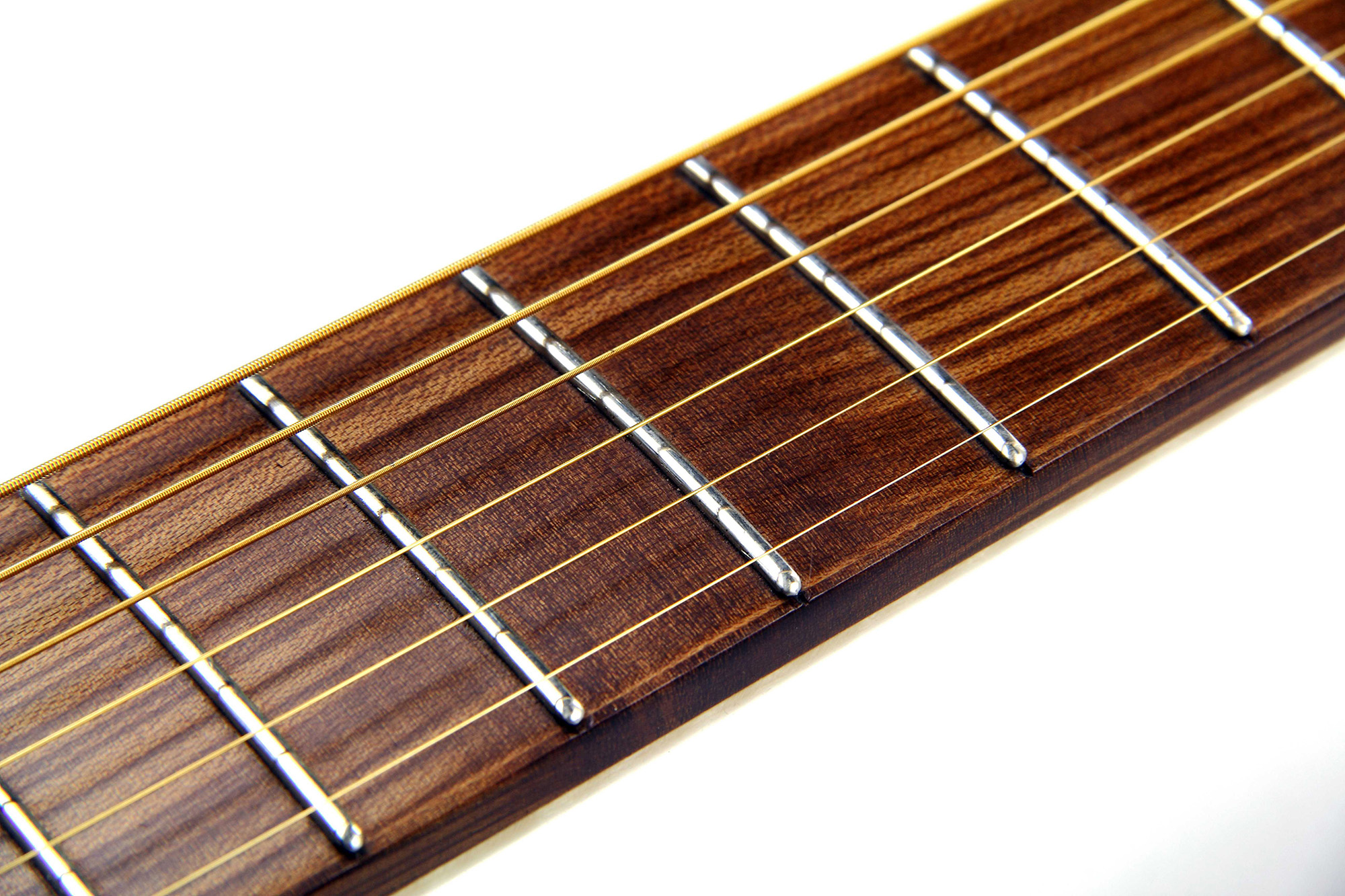 Fretboard from Sonowood maple on a CannaGuitar
