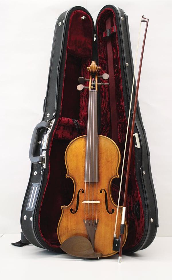 Violine mit Formteilen aus Sonowood Ahorn von Wilhelm Geigenbau